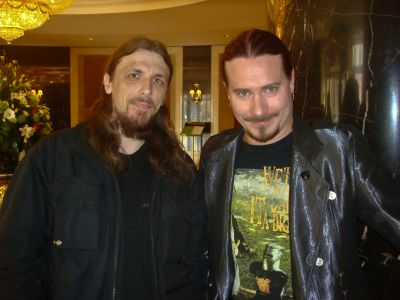 5. with Tuomas Holopainen (NIGHTWISH)
