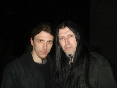 6. with Greg Mackintosh (PARADISE LOST, VALLENFYRE)