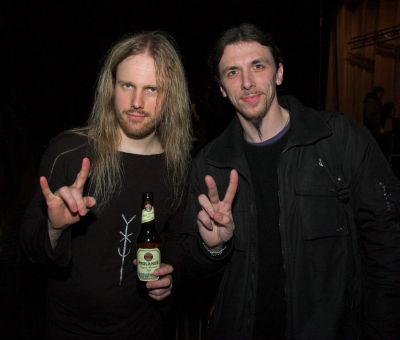 9. with Christofer Johnsson (THERION)