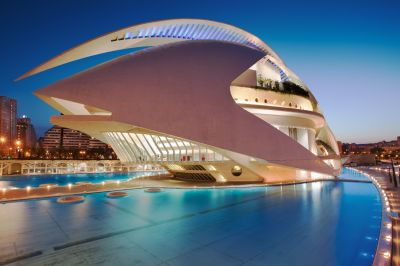 The Valencia Opera House Queen Sofia Palace of the Arts) - Spain