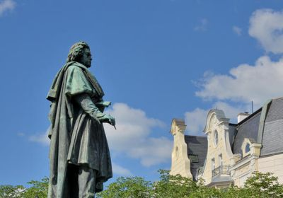 Beethoven-Denkmal am Münsterplatz